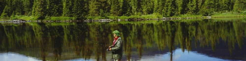 Fiskare i Borgafjäll