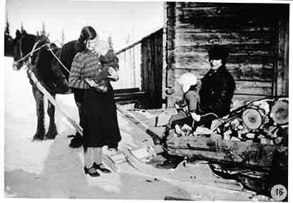 Bostadsförhållanden 1940-talet i Borgafjäll