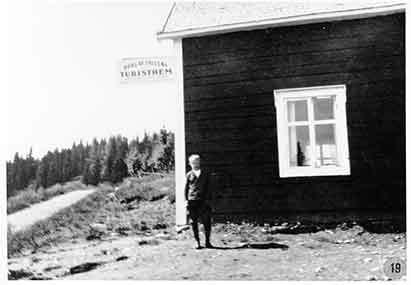Borgafjällens turisthem i Borgafjäll