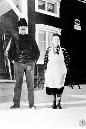 Roland August och Britta i Borgafjäll
